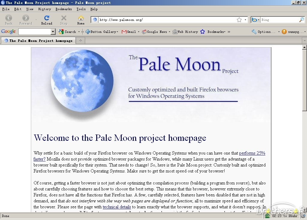 Pale Moon Portable x64 full screenshot