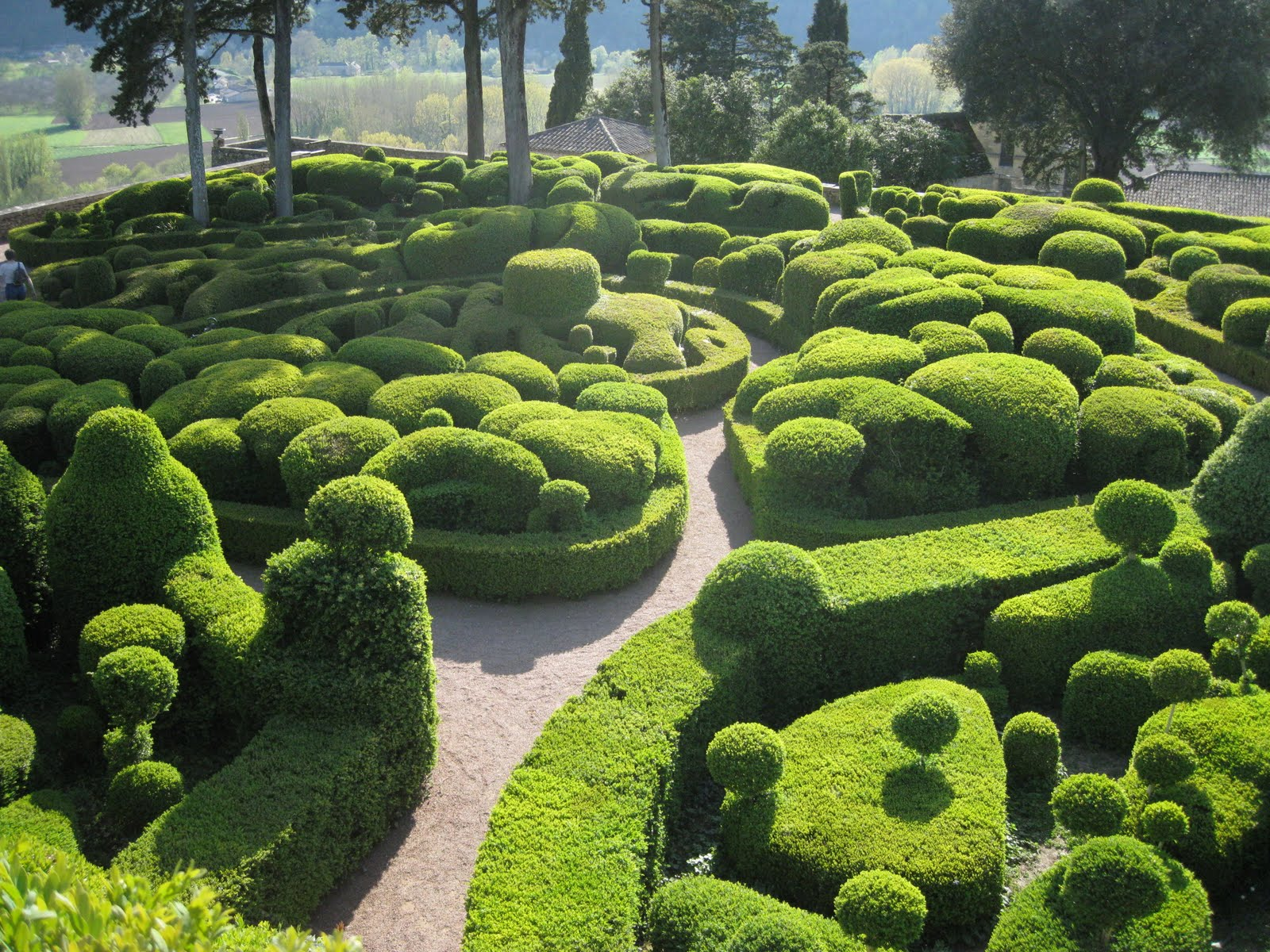 Happy travels les jardins suspendus de marqueyssac for Jardin suspendu