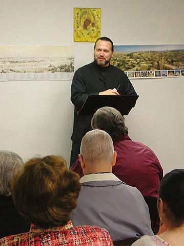 pretre Joseph Huneycutt, patriarcat d'Antioche, Houston, Texas