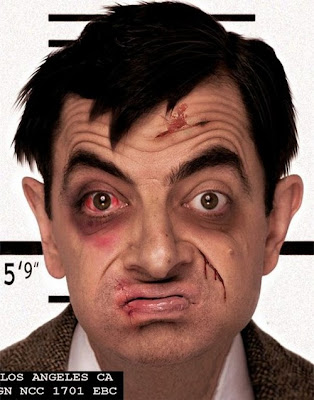 If Mr Bean was Bin Laden. If Mr Bean was Osama Bin