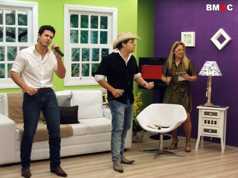 Sala De Star Com Tv ~  Di Marco e Christiano no Programa Sala de Star TV Beira Rio Piracicaba