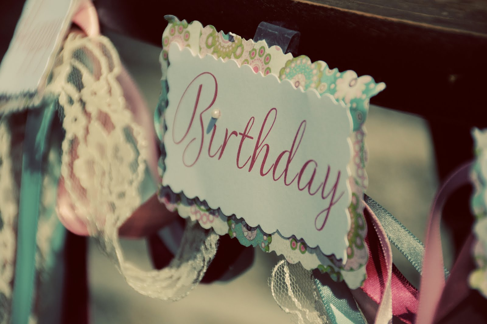 Real Parties} Vintage Shabby Chic 1st Birthday!
