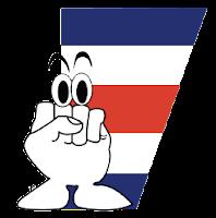 Logo del IX Congreso Latinoamericano de Educación Bilingue: Un puño cerrado blanco con ojos y la bandera de Costa Rica atrás
