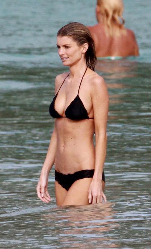All Marissa miller painted on bikini this