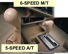 Nissan D40 Navara shift lever