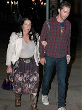 Shia LaDouche and his Date-Mom