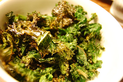Kale Chips Recipe Oven Giada a time to eat: S...