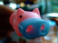 小豬手電筒