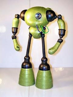 kidrobot munny dunny friendly robot art mike slobot slomunny