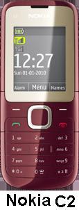 Nokia C2 India