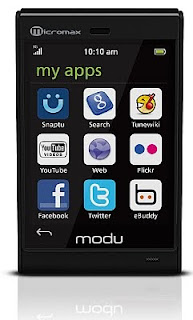 Micromax Lightest Touch Phone modu T