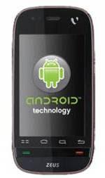 Videocon ZEUS Android Mobile India