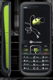 Micromax X265 Dual SIM Mobile phone