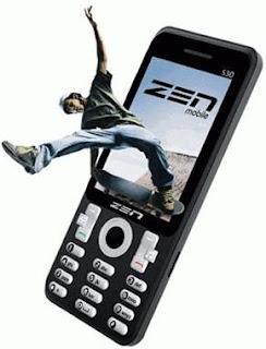 Zen S30 3D Mobile