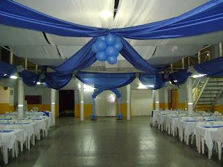 Violetina decoraciones decoraciones telas y globos for Decoracion en telas y globos para 15 anos