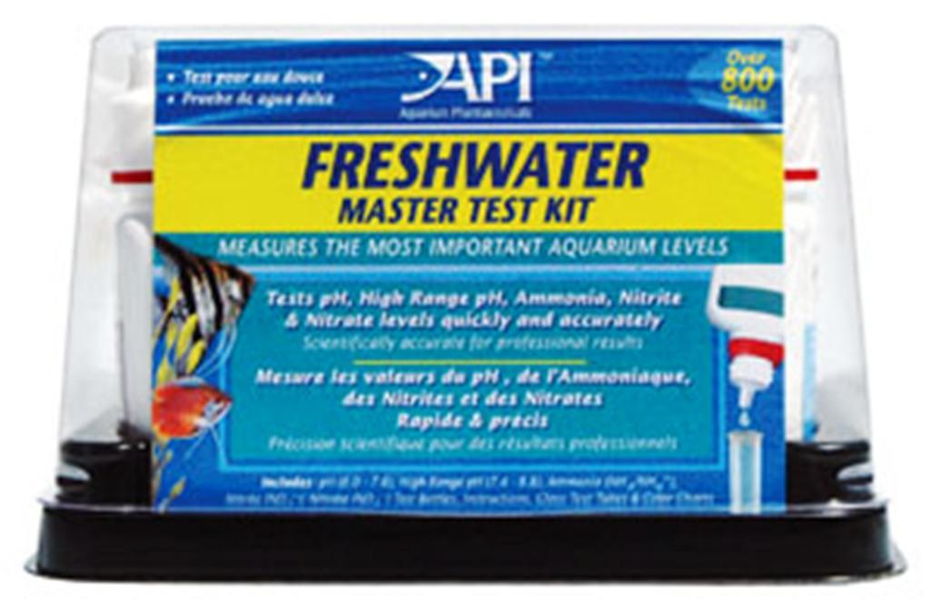 api high range ph test kit instructions