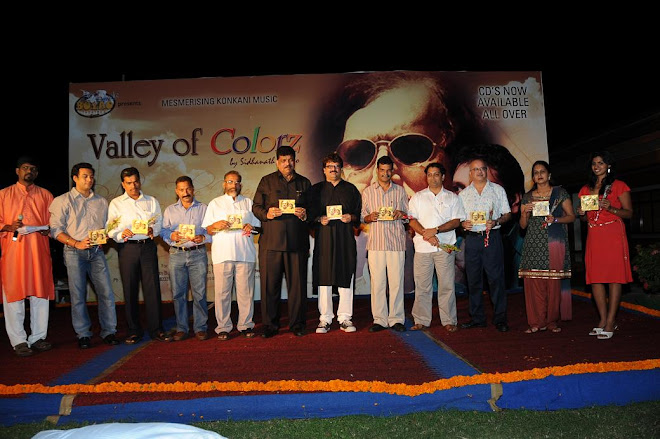 "RELEASE OF "" VALLEY OF COLORZ""  KONKANI MUSIC CD"
