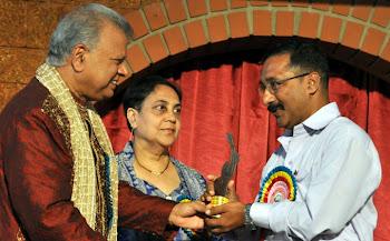NOMINATION FOR BEST LYRICIST AWARD-2009 KALANGANN(MANDD SOBAN) MANGALORE