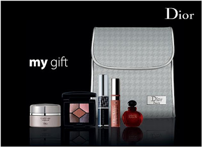 credit card antics: Dior Free Gift with Purchase