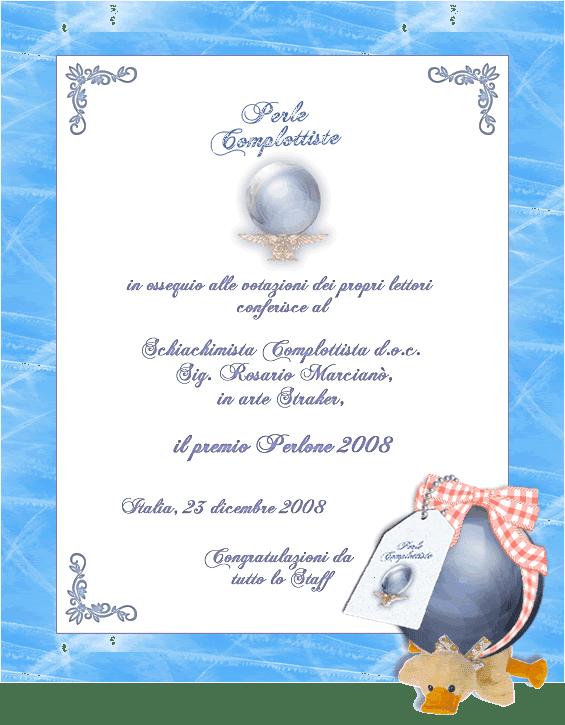 Premio Perlone 2008