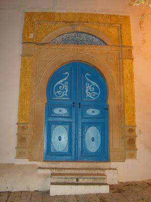 Partageons nos passions les portes de sidi bou said tunisie for Decoration porte sidi bou said