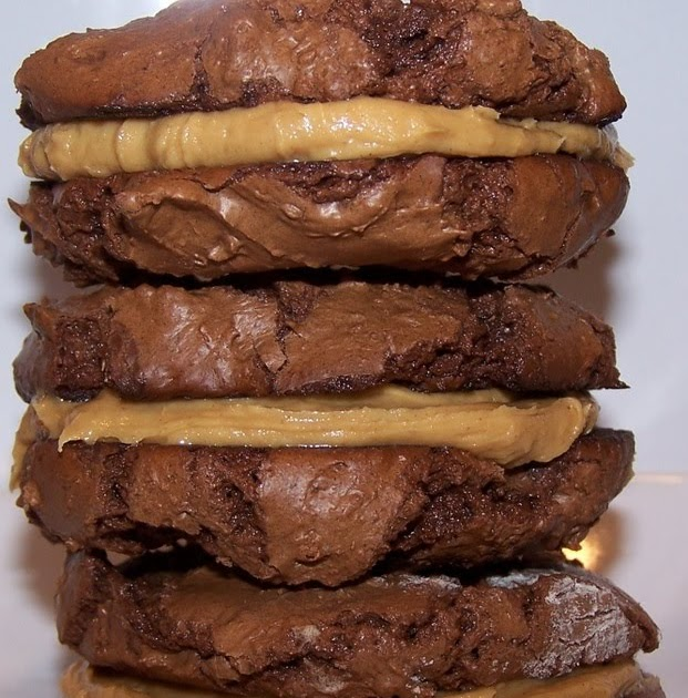 Cook's Quest: Peanut Butter Stuffed Milk Chocolate Sandwich Cookies