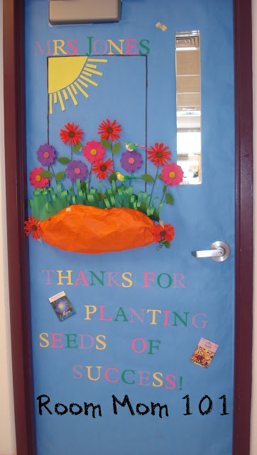 Classroom Door Decoration Ideas For March ~ Room mom march