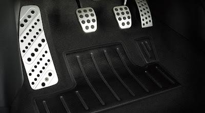 aluminum-alloy pedals MAZDASPEED3