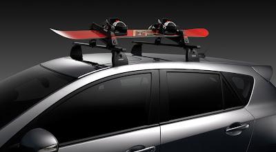 Mazda 3 roof rack