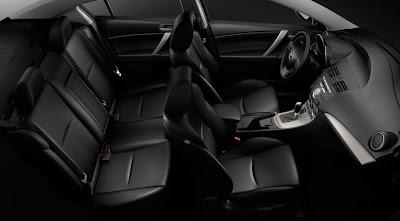 comfort style interior Mazda 3
