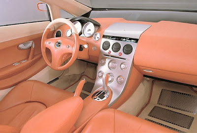 Mazda 2001 MX Sport Tourer interior