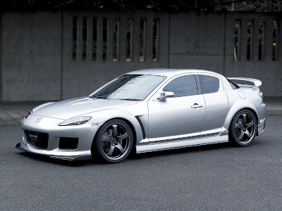 Mazda RX-8 design and engineering model