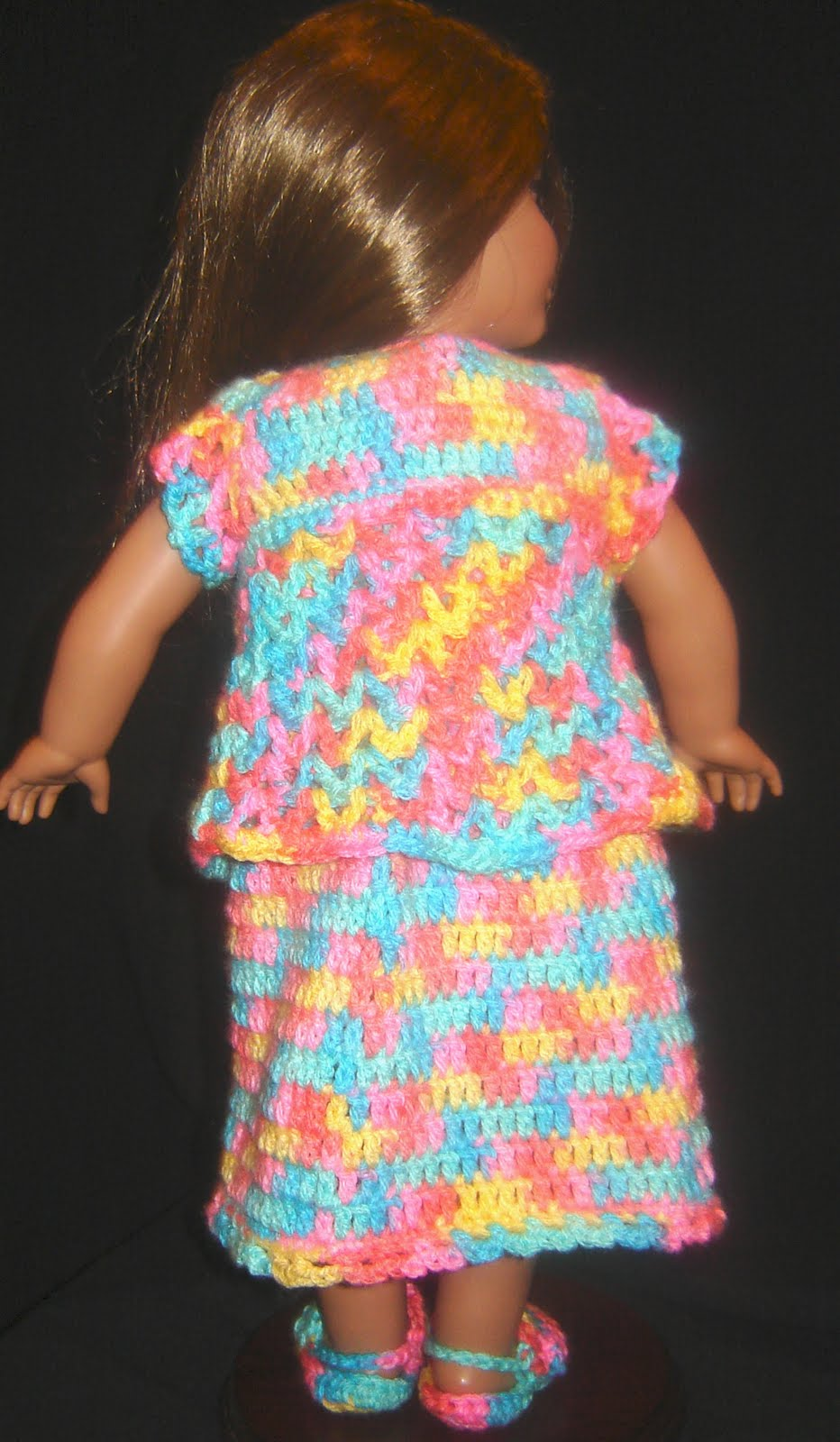 Bizzy Crochet: Nightie, Robe & Slippers - 18\