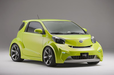 2009 Scion iQ concept Wallpaper