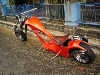 Modification Motor Vespa