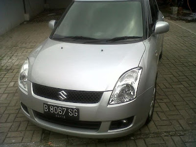 Dijual Suzuki swift 2008 matic