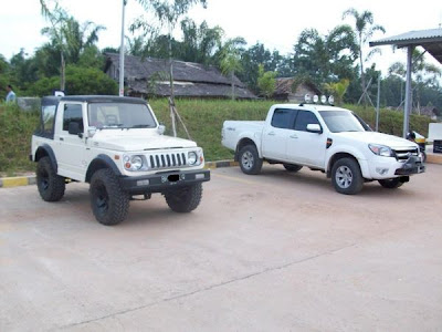 Suzuki Katana Modifikasi mantap