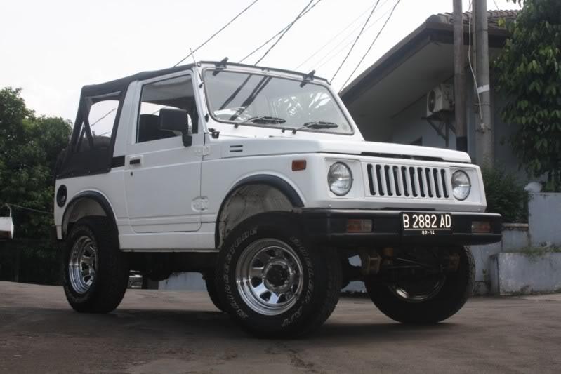 jimny modif off road same offroad lumpur mantap modif tinggi title=