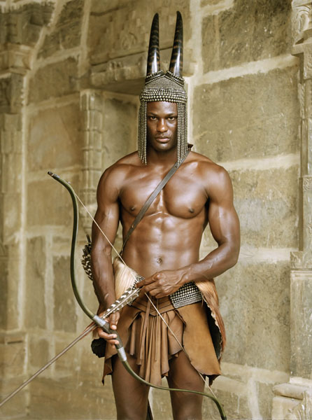 Otta Benga, Former Slave<br>The Epitome of a Nubian Knight