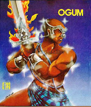 Orisha Art: OGUM<br> A Nubian Knight