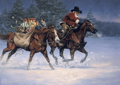 Farm Themed Christmas Cards