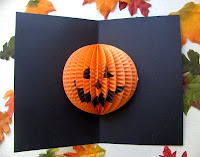 pumpkin card for halloween