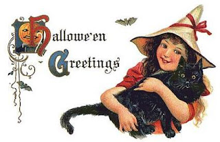Vintage Halloween Card Collection