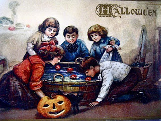 Victorian Style Halloween Cards