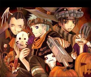 Anime Naruto Halloween eCards