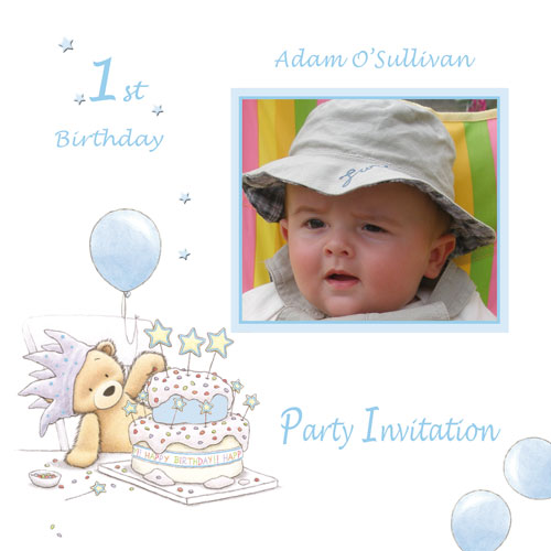 Here, we are presenting ideas and samples of Baby Birthday Invitation Cards