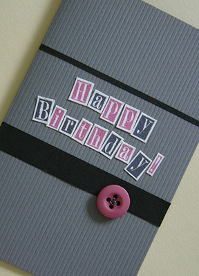 Birthday Cards: Handmade Birthday Cards