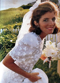 Ever since the pictures were out of Caroline Kennedy in her wedding dress, ...