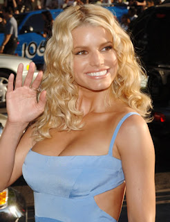 Jessica Simpson flaunts body in a skimpy dress