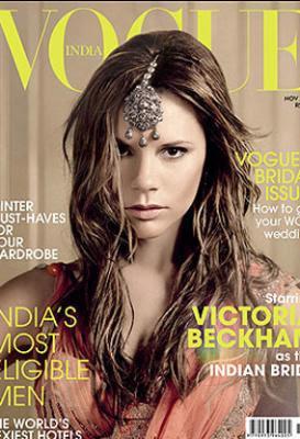 Victoria Beckham becomes Indian Bride